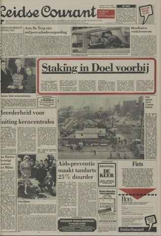 Leidse Courant 1987-04-24