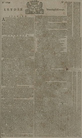 Leydse Courant 1749-06-30