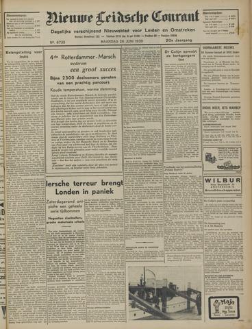Nieuwe Leidsche Courant 1939-06-26