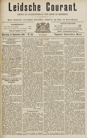 Leydse Courant 1885-09-21