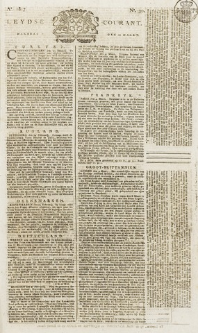 Leydse Courant 1817-03-10