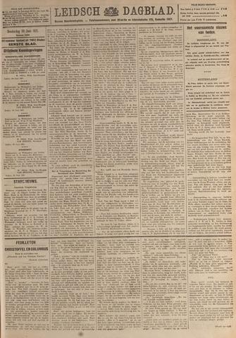 Leidsch Dagblad 1921-06-30