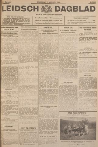 Leidsch Dagblad 1930-08-07