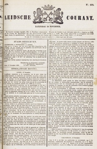 Leydse Courant 1876-11-18
