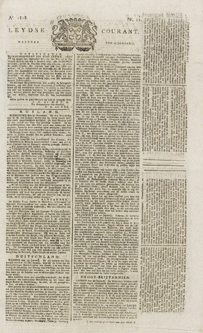 Leydse Courant 1818-01-26