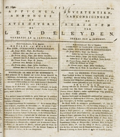 Leydse Courant 1812-01-24