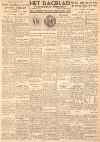 Dagblad voor Leiden en Omstreken 1944-02-16