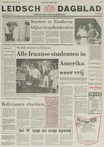 Leidsch Dagblad 1980-08-06