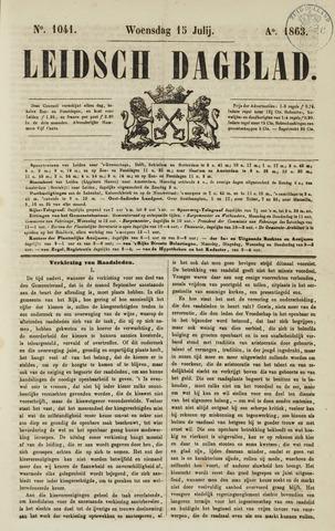 Leidsch Dagblad 1863-07-15