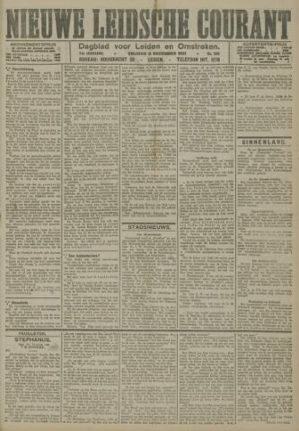 Nieuwe Leidsche Courant 1921-12-09