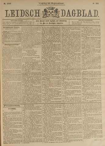 Leidsch Dagblad 1901-09-13