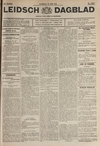 Leidsch Dagblad 1933-06-24