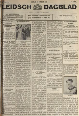 Leidsch Dagblad 1932-10-21
