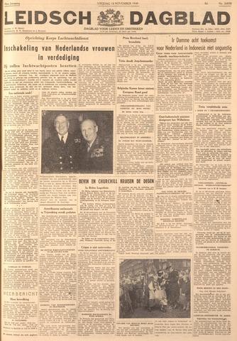 Leidsch Dagblad 1949-11-18