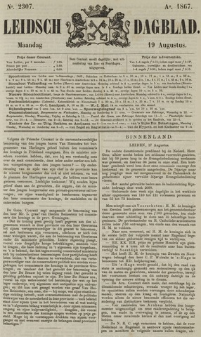 Leidsch Dagblad 1867-08-19
