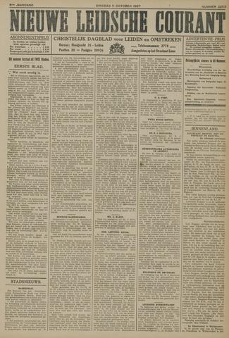 Nieuwe Leidsche Courant 1927-10-11