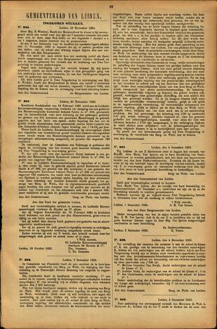 Handelingen van de Raad 1893-11-22