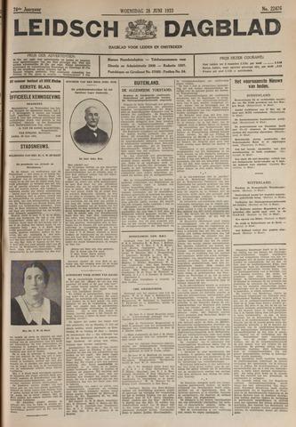 Leidsch Dagblad 1933-06-28