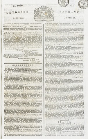 Leydse Courant 1838-10-31