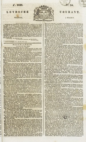 Leydse Courant 1838-03-09