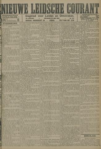 Nieuwe Leidsche Courant 1921-05-27