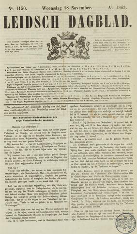 Leidsch Dagblad 1863-11-18
