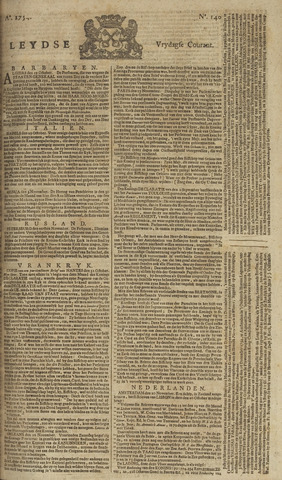 Leydse Courant 1754-11-22