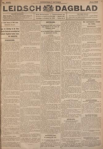 Leidsch Dagblad 1926-10-07
