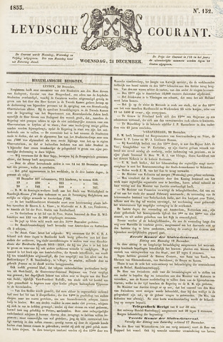Leydse Courant 1853-12-21