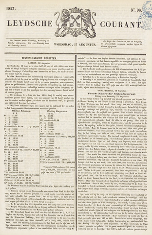 Leydse Courant 1853-08-17