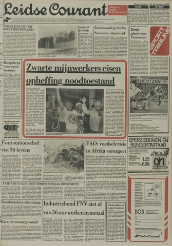 Leidse Courant 1985-08-05