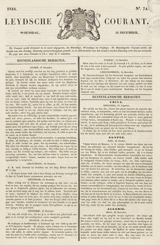 Leydse Courant 1844-12-18