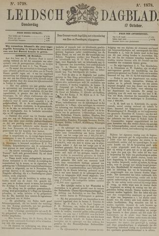 Leidsch Dagblad 1878-10-17