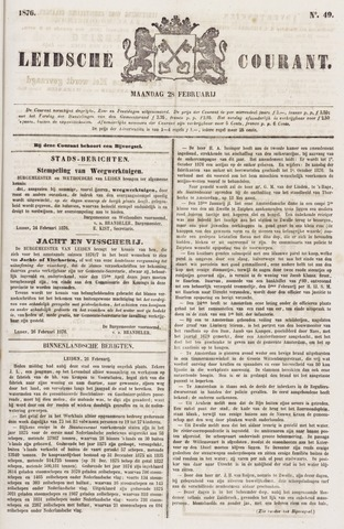 Leydse Courant 1876-02-28
