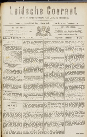 Leydse Courant 1889-09-07