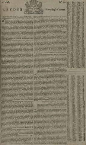 Leydse Courant 1748-08-28