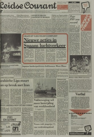 Leidse Courant 1987-08-24