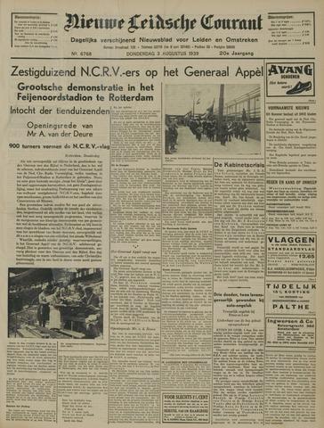 Nieuwe Leidsche Courant 1939-08-03