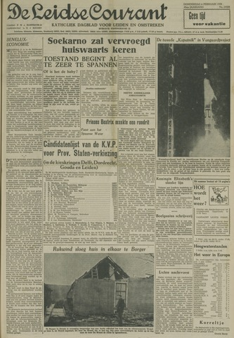 Leidse Courant 1958-02-06