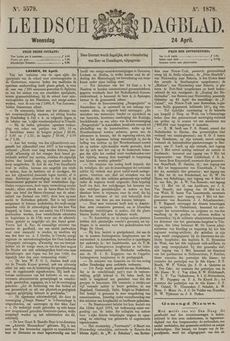 Leidsch Dagblad 1878-04-24