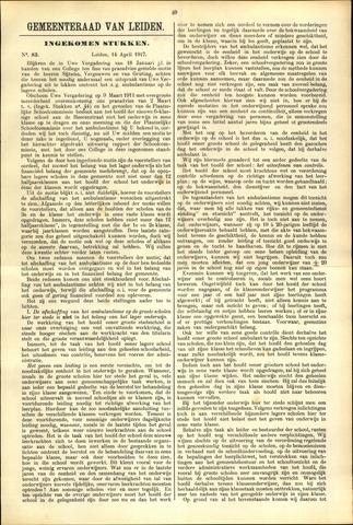 Handelingen van de Raad 1917-04-14