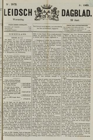 Leidsch Dagblad 1869-06-23