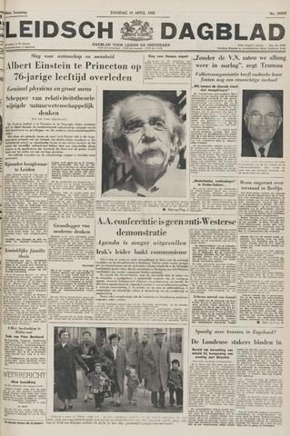 Leidsch Dagblad 1955-04-19