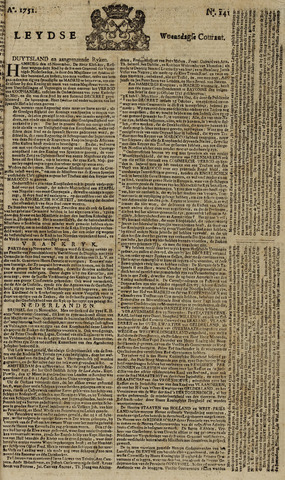 Leydse Courant 1751-11-24