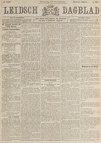 Leidsch Dagblad 1916-11-21