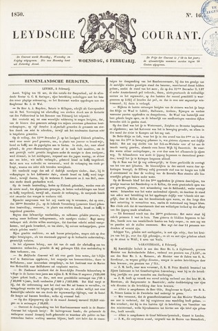 Leydse Courant 1850-02-06