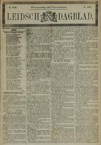 Leidsch Dagblad 1890-11-26