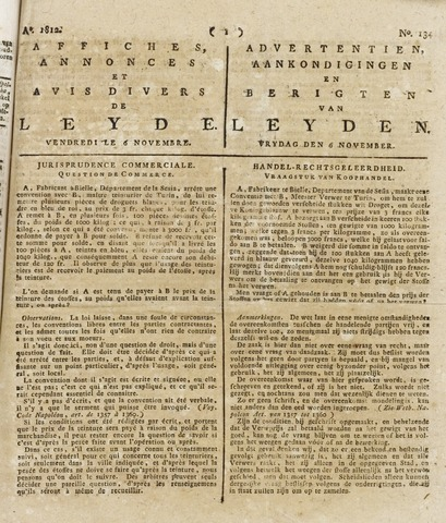 Leydse Courant 1812-11-06