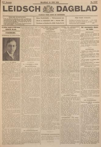 Leidsch Dagblad 1930-06-16