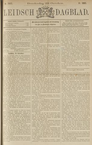 Leidsch Dagblad 1885-10-29